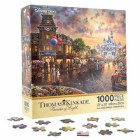 Disney Puzzle Thomas Kinkade Disneyland 60th Anniv. 1000 pc New with Box