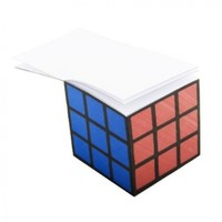 Spinning Hat Rubik's Cube Note Pad