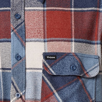 Brixton Archie Plaid Flannel Long Sleeve Button Up Shirt at PacSun.com