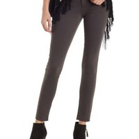 Charcoal Skin Tight Legging Skinny Jeans by Charlotte Russe