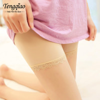 High Waist Lace Safety Short Pants Underwear Seamless Sexy Pants  Breathable Shorts BlackWhiteKhaki SM6