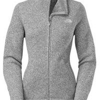 Gliks - The North Face Crescent Sunset Full Zip Jacket for Women in High Rise Grey Heather
