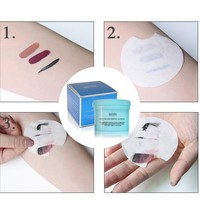 100Pcs/Box Eye Face Makeup Remover Wipes Moisturizing Cotton Pads Make Up Towel Eyeshadow Lip Cleansing Wet Wipes #243641