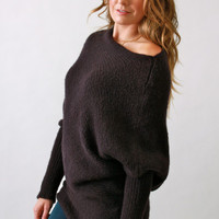 Wooden Ships, A-symetrical Long Sweater in Venice