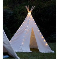 Modern Teepee for Kids with lights