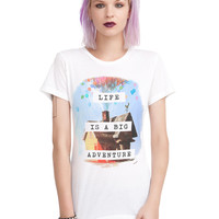 Disney Up Life Is Adventure Girls T-Shirt