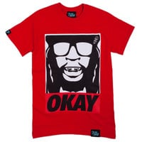 Tees - Graphic - Filthy Dripped Okay Tee - Red - DTLR -  Down Town Locker Room. Your Fashion, Your Lifestyle!