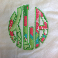 Lilly Pulitzer Monogrammed Pool Towel