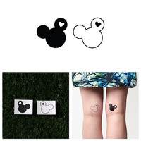 Happiest - Temporary Tattoo (Set of 2)