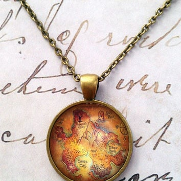 Once Upon a Time Fairy Tale Peter Pan Necklace T264