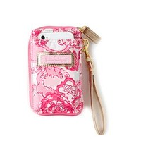Carded ID Wristlet- Phi Mu - Lilly Pulitzer
