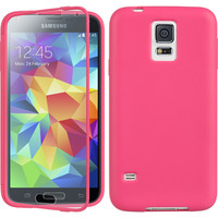 DW Wrap-up with Screen Protector Case for Samsung Galaxy S5 - Hot Pink