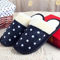 Mens Soft Winter Warm Furry House Indoor Outdoor Home Slippers Shoes = 1704372612