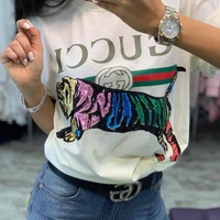 GUCCI  Classic Cotton Short Sleeves T-shirt