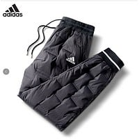 Adidas new style down pants couple style cool style Korean white duck down thickened warm and cold resistant