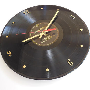JUSTIN TIMBERLAKE Vinyl Record Wall Clock (The 20/20 Experience)