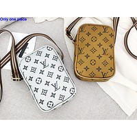 LV fashion casual full printed single shoulder bag hot selling lady shopping bag