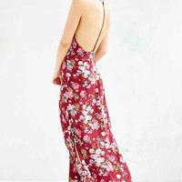 Band Of Gypsies Deep Racerback Floral Maxi