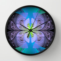 After Winter, Spring Wall Clock by Lyle Hatch