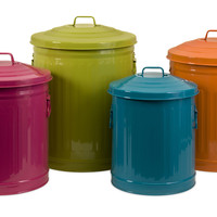 Edison Brights Storage Cans - Set of 4