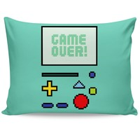 Game Over BMO Pillow Case