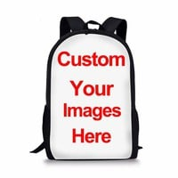 Cool Backpack school Coloranimal Cool 3D Animal Fire French Bulldog Canadian Hairless Wolf Rucksack for Student Girls Schoolbag Men Shoulder Backpack AT_52_3