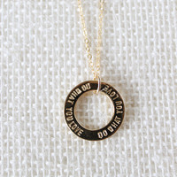 Do What You Love Necklace WHOLESALE