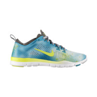 Nike Free 5.0 TR Fit 4 Print Women's Training Shoe Size 8 (White)