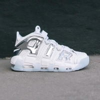 auguau NIKE - Women - W Air More Uptempo  - White/Blue