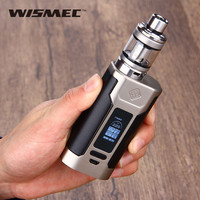 Original Wismec Predator 228 With Elabo Kit Predator 228W Mod Elabo Tank 4.9ml Powered by Replaceable 18650 Battery Vape Kit