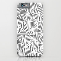 Abstraction Linear Inverted iPhone & iPod Case by Project M