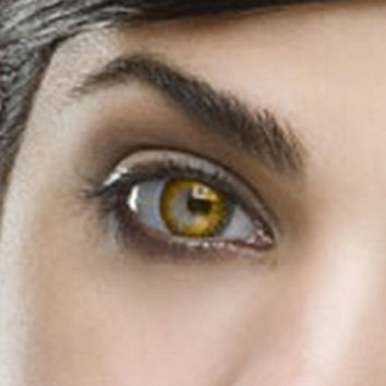 Fine & Clear Hazel Coloured Contacts