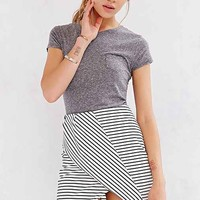 Finders Keepers Tightrope Skirt- Black & White