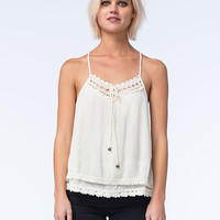 O'neill Shania Womens Woven Tank White  In Sizes