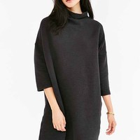 Truly Madly Deeply Ribbed Knit T-Shirt Dress