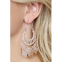 25375 - CHANDELIER GYPSY DANGLING EARRINGS