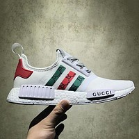 Adidas x GUCCI NMD Fashion Women Breathable Running Sneakers Sport Shoes