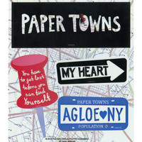 Paper Towns Sticker Sheet