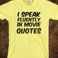 Fluently in Movie Quotes - ZimmaCass
