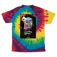 Men's Rainbow Bob Pop Art Tie Dye Tee