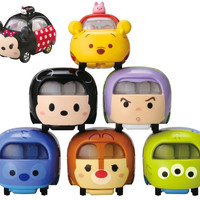 Takara Tomy Tomica Tsum Tsum Character Diecast Toy Car Part 2 7 Trading Collection Figure Set