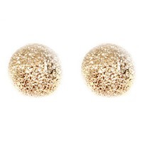 Gold Ball Stud Earrings | Monday Dress Boutique