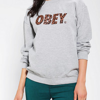 Urban Outfitters - OBEY Cheetah Font Sweatshirt