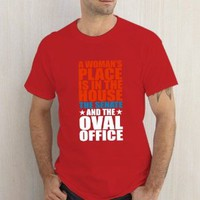 A Woman'S Place Is In The House And Senate And Oval Office Red Tshirt