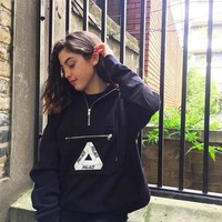 Hoodies Winter Zippers Bags Couple Pullover Hats [11532814919]