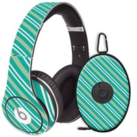 Striped Ocean Decal Skin for Beats Studio Headphones & Carrying Case by Dr. Dre