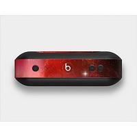 The Glowing Red Space Skin Set for the Beats Pill Plus