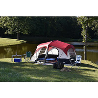 Camping Vacation Fishing Fun Tent With Lighting And Projector Screen