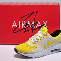 NIKE AIR MAX ZERO Yellow/White