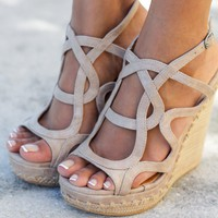 Anatolia Cream Wedges